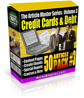 Product picture Credit Cards And Debt