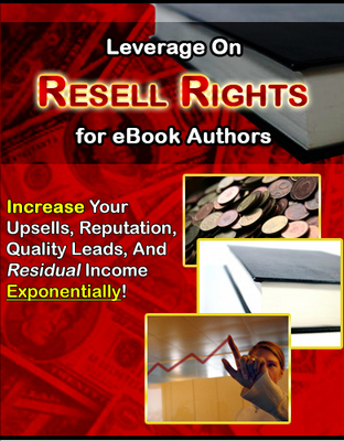 Product picture Resell Rights for Ebook Authors